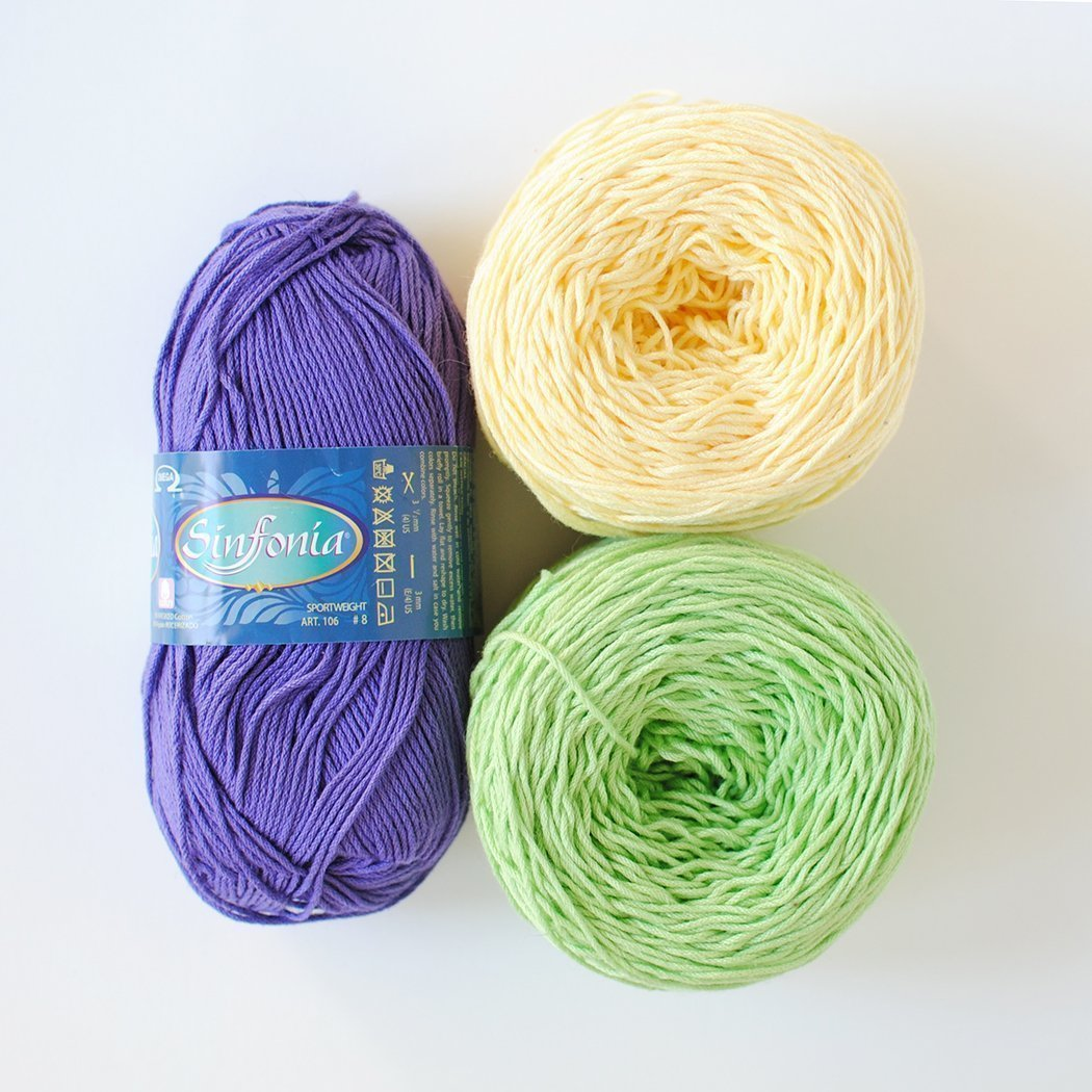 All About Cotton Yarns – Tiny Curl Crochet