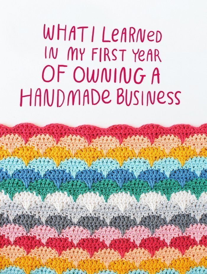 What I Learned in My First Year of Owning a Handmade Business