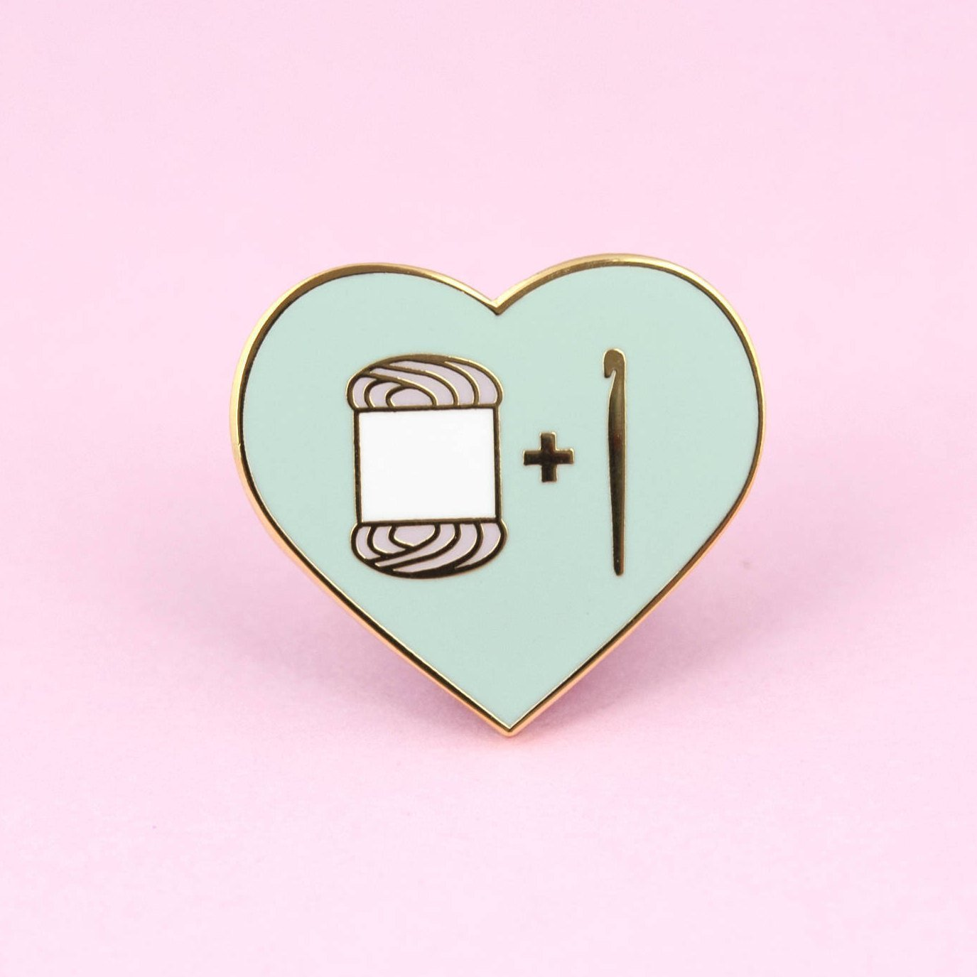Crochet Pin by The Clever Clove