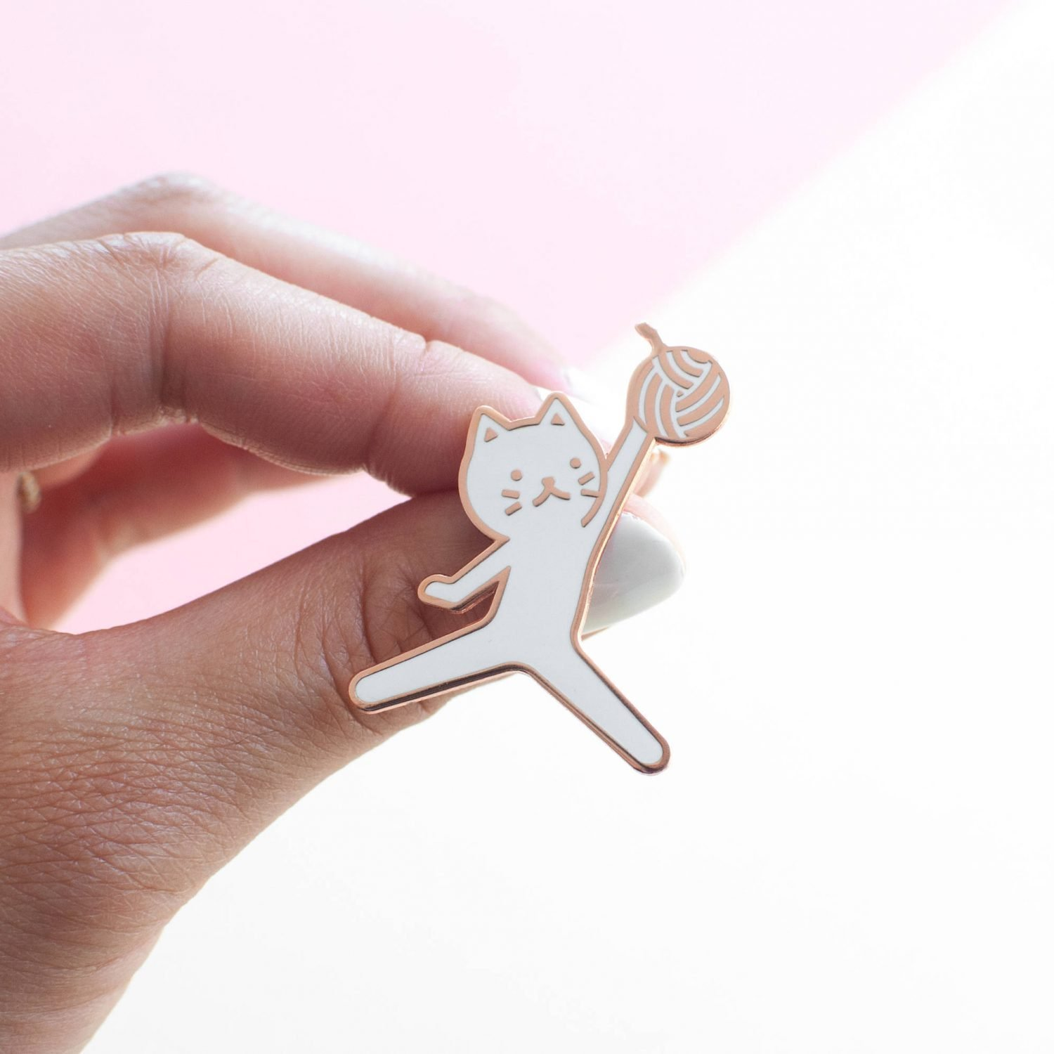 Jumpcat pin by Everyday Olive